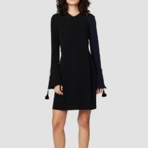 Derek Lam 10 crosby Asymmetrical bell sleeve dress